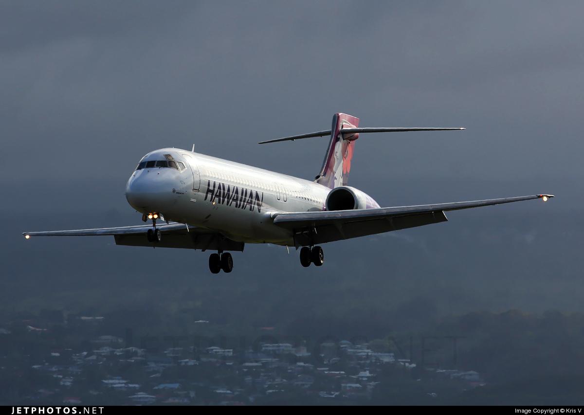 N490HA - Boeing 717-2CM - Hawaiian Airlines
