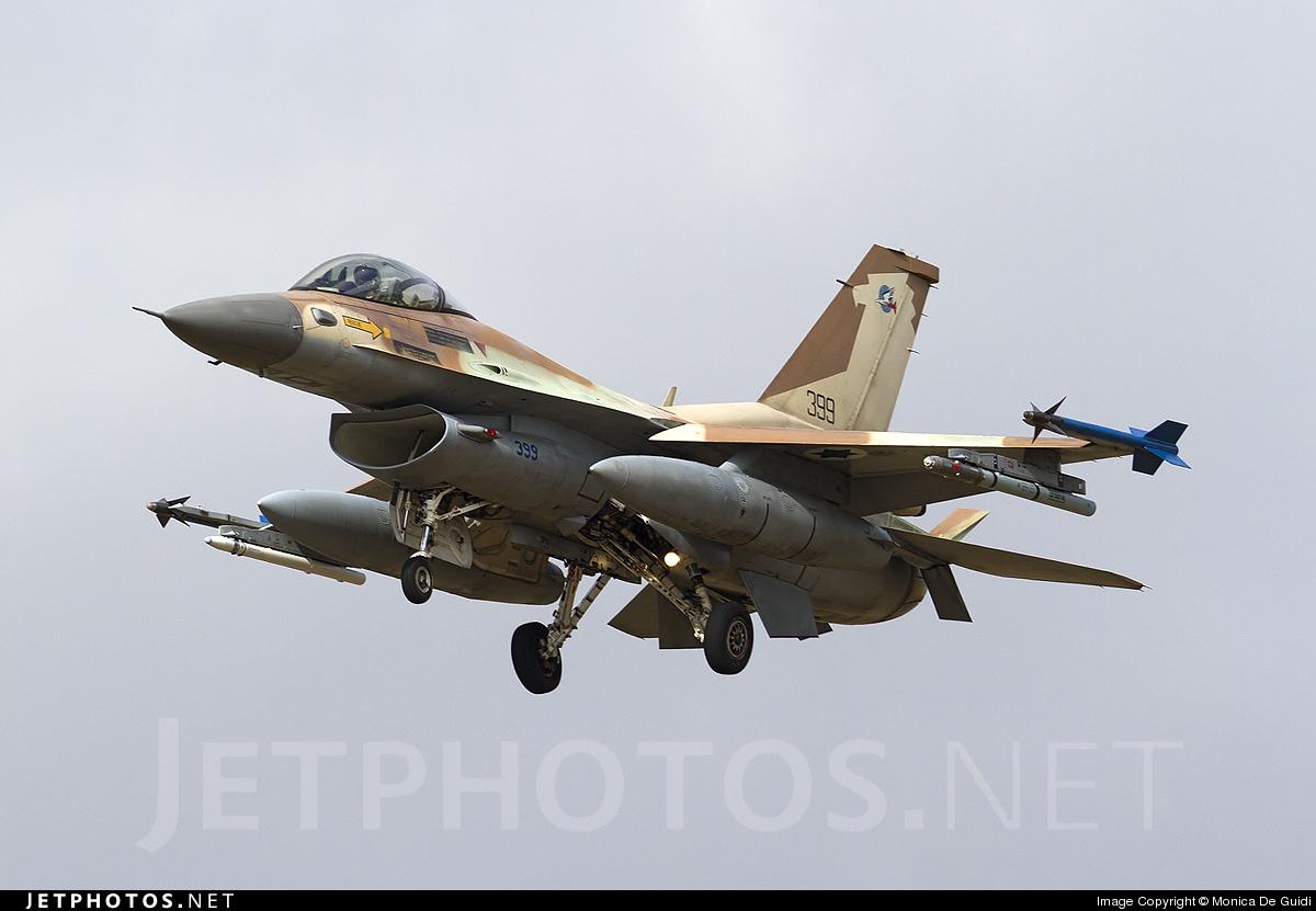 399 - Lockheed Martin F-16C Barak - Israel - Air Force