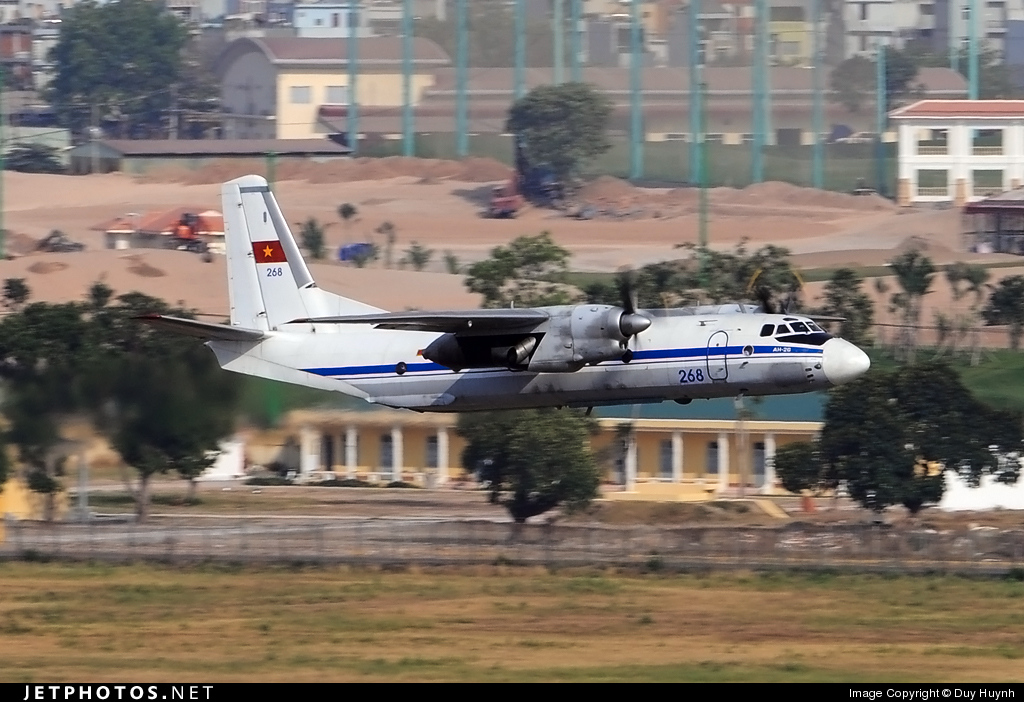 268 - Antonov An-26 - Vietnam - Air Force