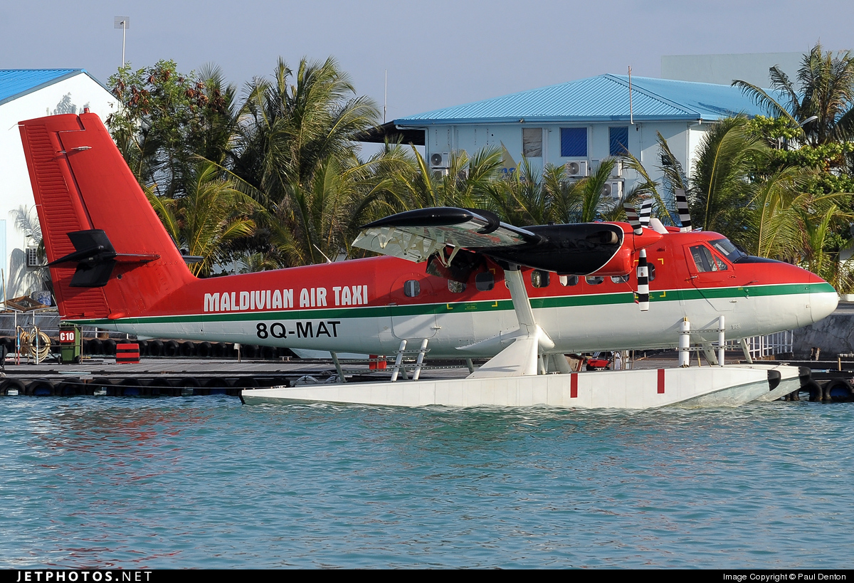 8Q-MAT - De Havilland Canada DHC-6-200 Twin Otter - Maldivian Air Taxi