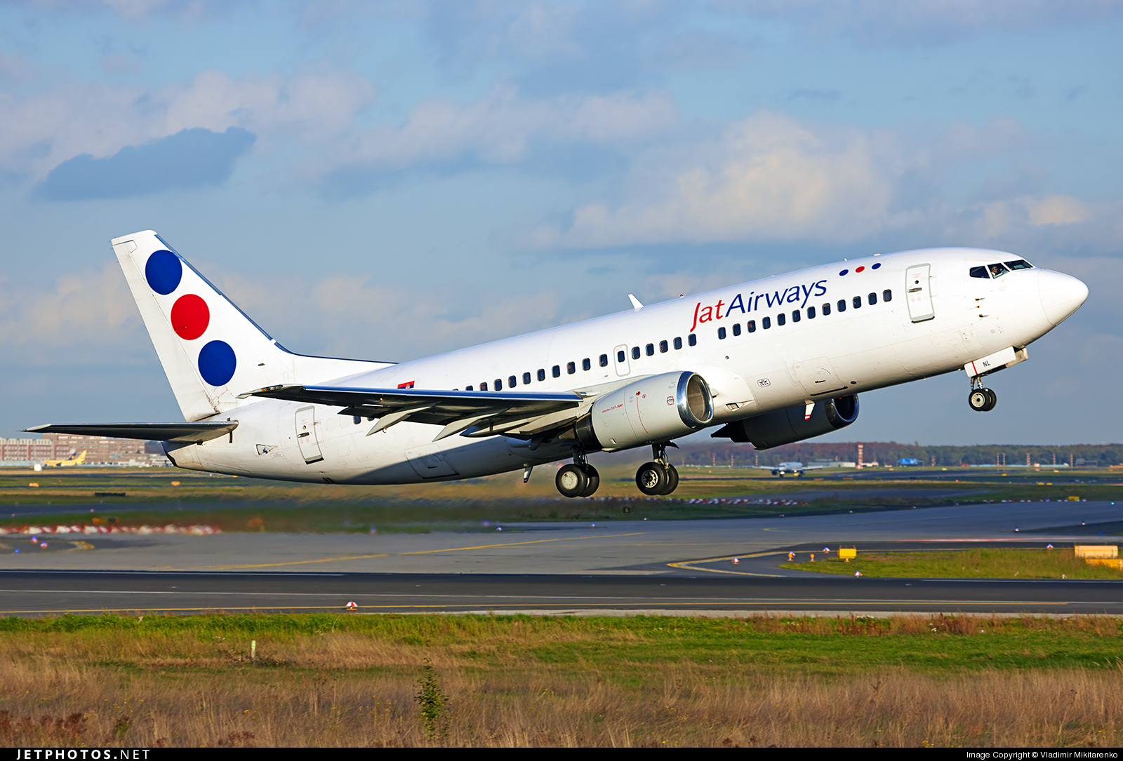 YU-ANL - Boeing 737-3H9 - Jat Airways
