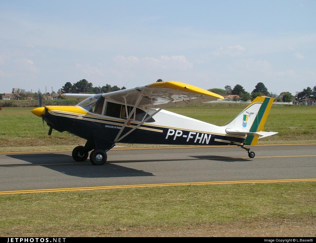 PP-FHN - Aero Boero AB115 - Aero Club - Paraná