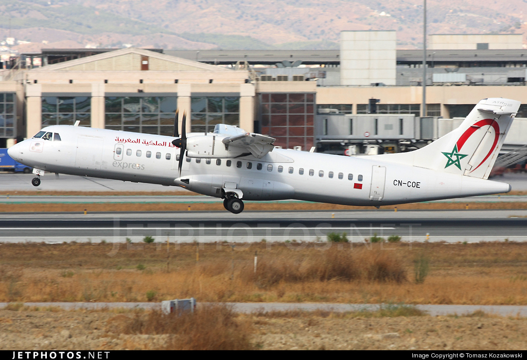 CN-COE - ATR 72-212A(600) - Royal Air Maroc Express