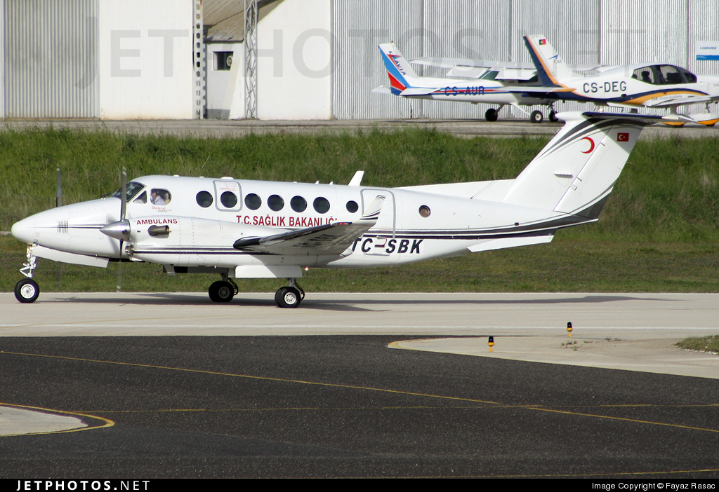 TC-SBK - Beechcraft B300C King Air 350C - Turkey - Ministry of Health
