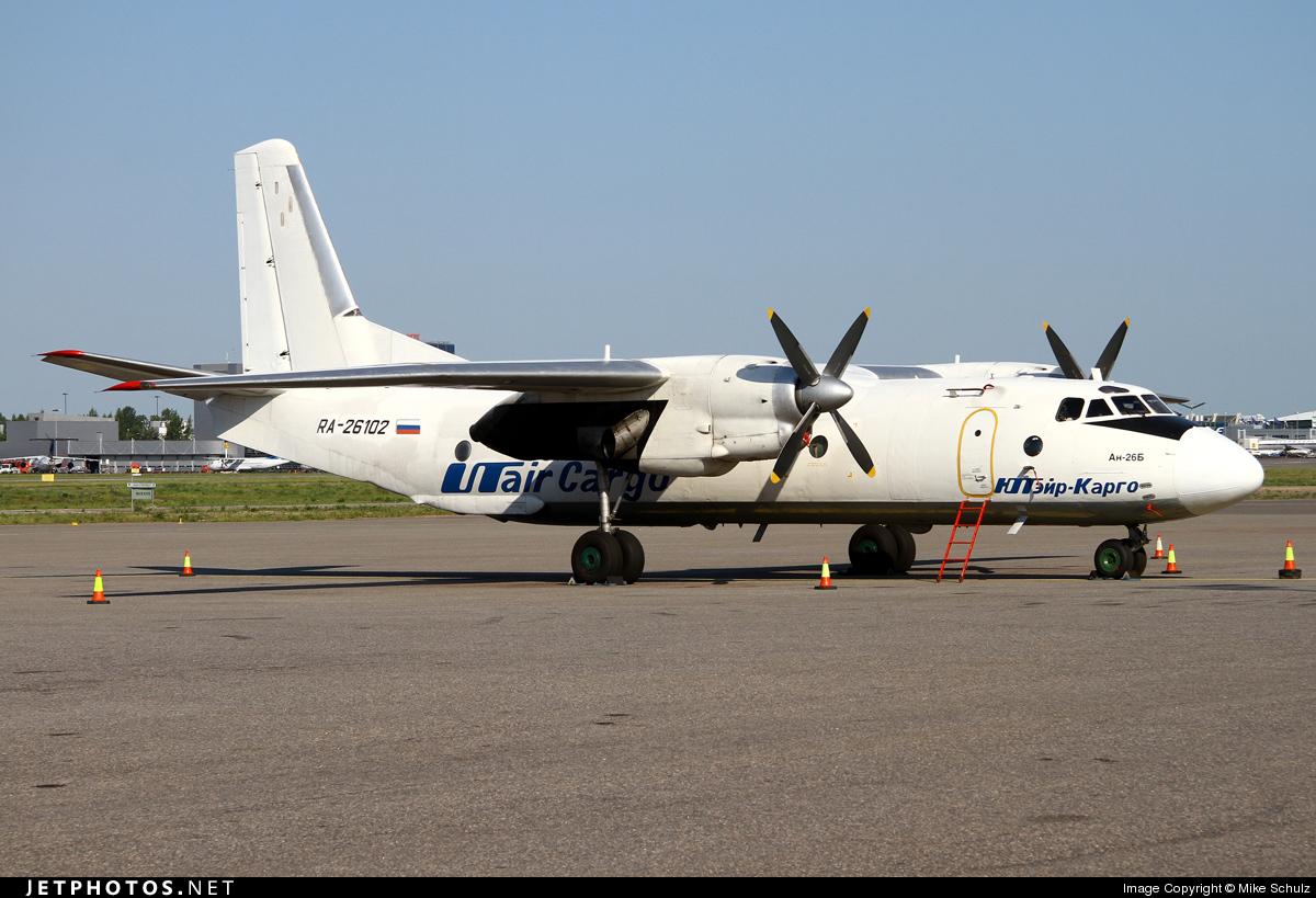 RA-26102 - Antonov An-26B - UTair Cargo