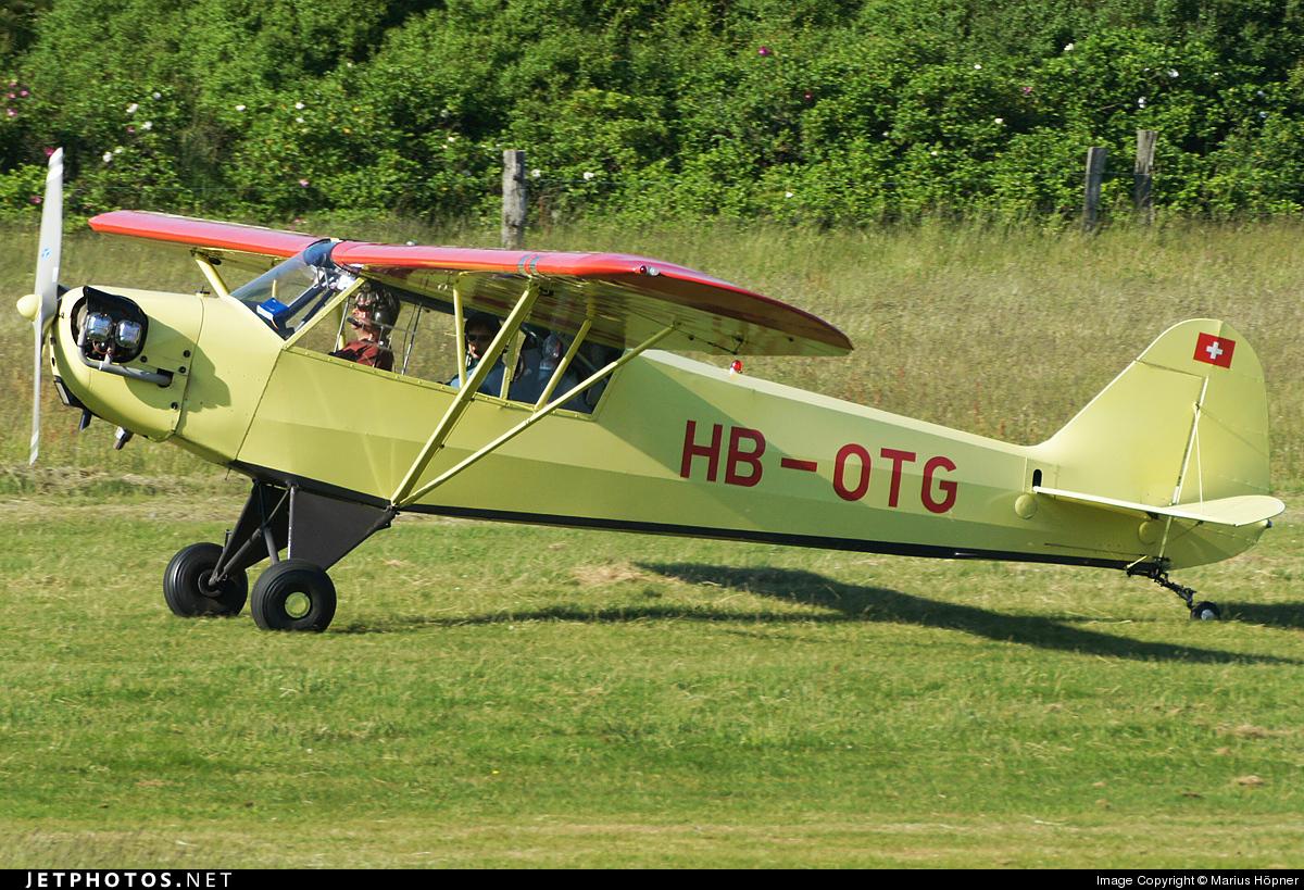 HB-OTG - Piper J-3C-65 Cub - Private