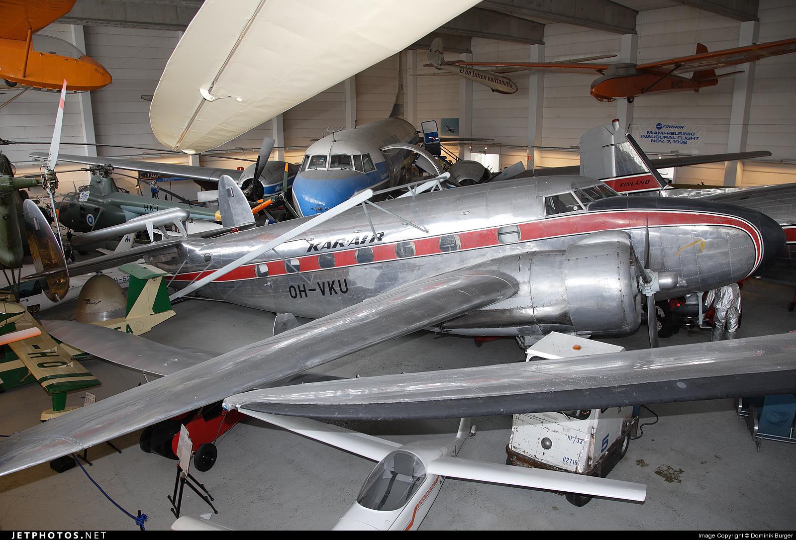 OH-VKU - Lockheed 18-56 Lodestar - Kar-Air