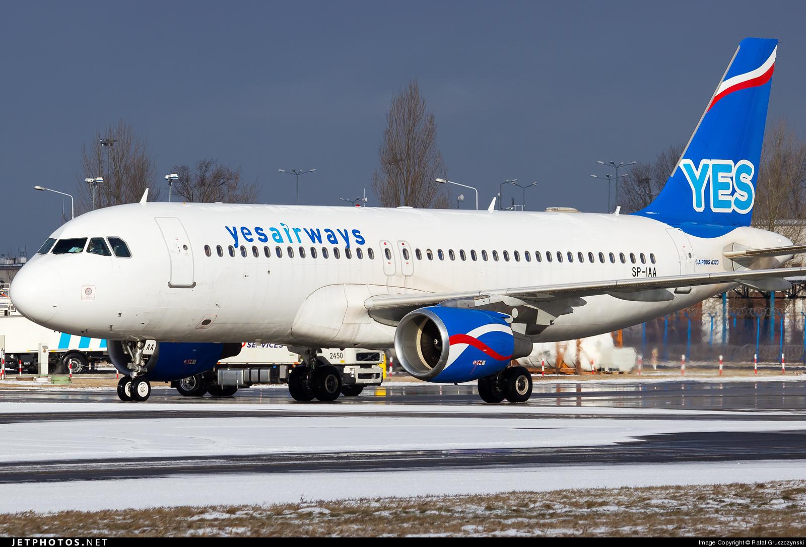 SP-IAA - Airbus A320-214 - Yes Airways