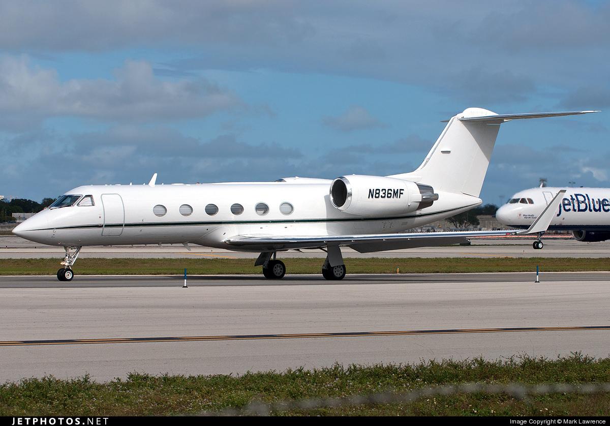 N836MF - Gulfstream G-IV - Private