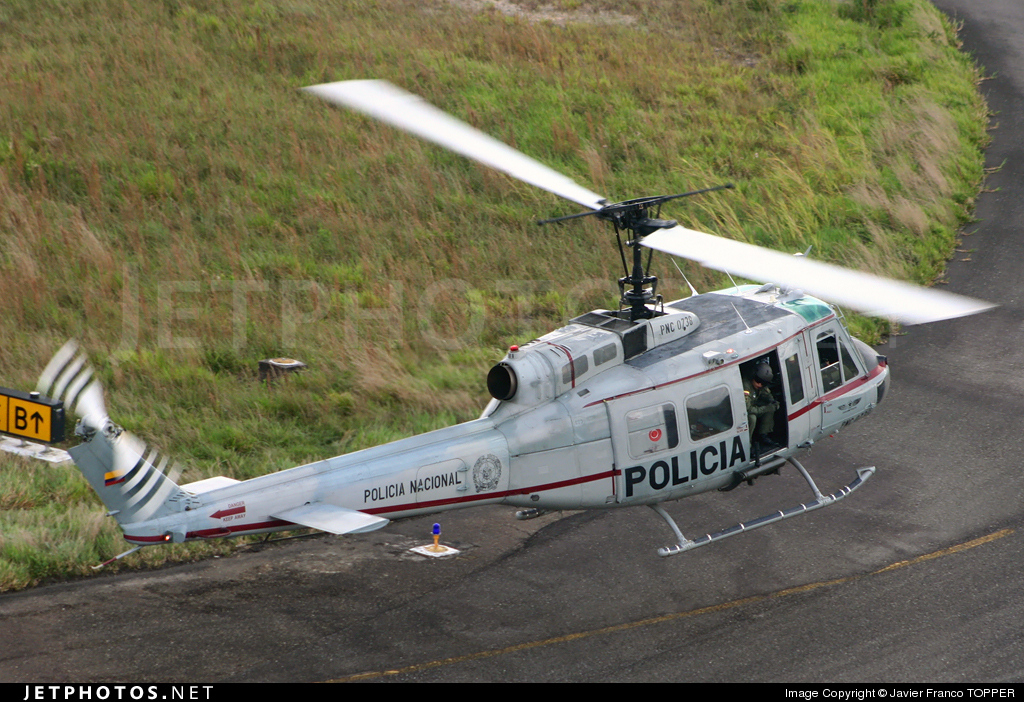 PNC-0738 - Bell UH-1H Huey II - Colombia - Police