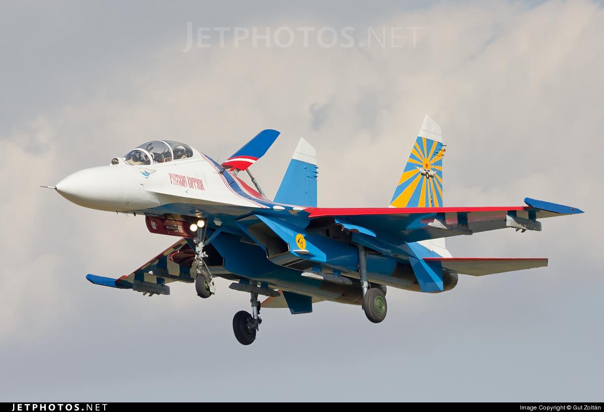 08 - Sukhoi Su-27 Flanker - Soviet Union - Air Force