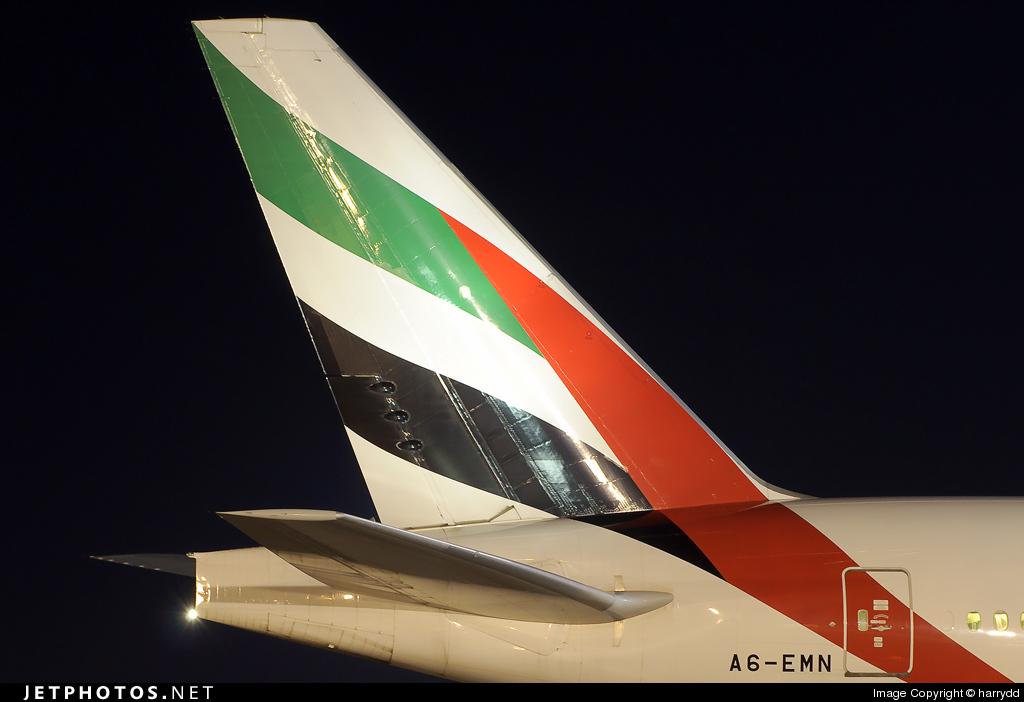 A6-EMN - Boeing 777-31H - Emirates