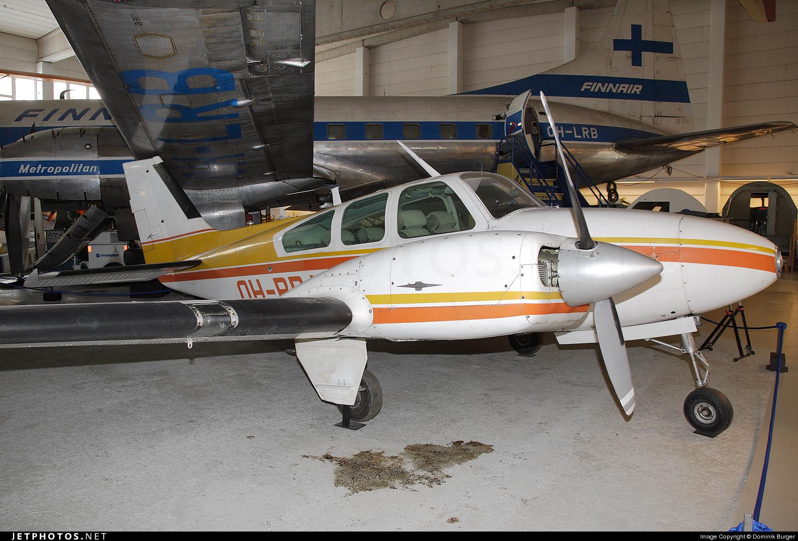 OH-BBA - Beechcraft 95-A55 Baron - Private