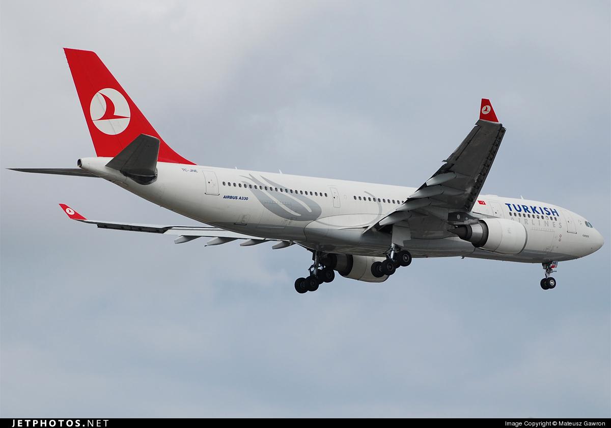 TC-JNE - Airbus A330-203 - Turkish Airlines