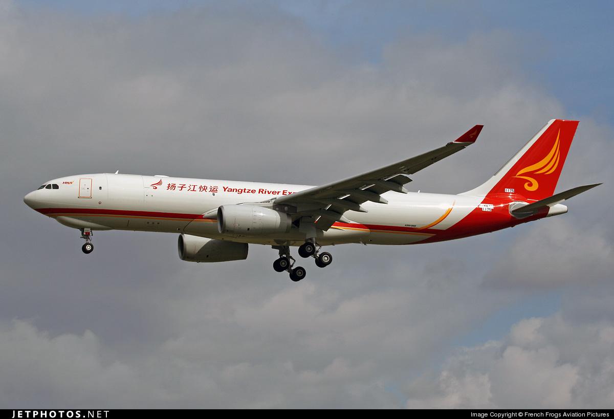 F-WWKT - Airbus A330-243F - Yangtze River Express