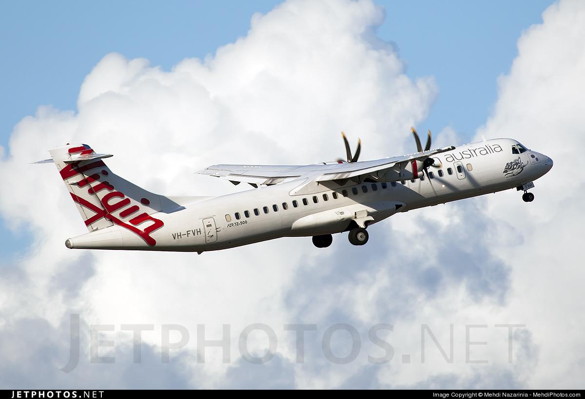 VH-FVH - ATR 72-212A(500) - Virgin Australia Regional Airlines
