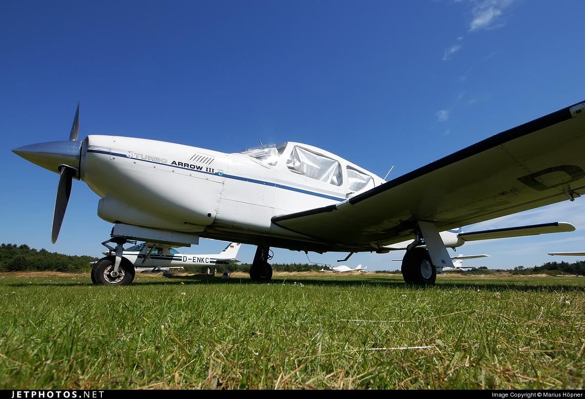 D-EDDU - Piper PA-28R-201T Turbo Arrow III - Private