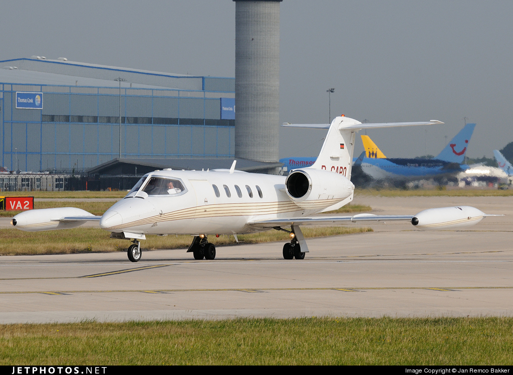 D-CAPO - Bombardier Learjet 35A - Jet Executive International Charter