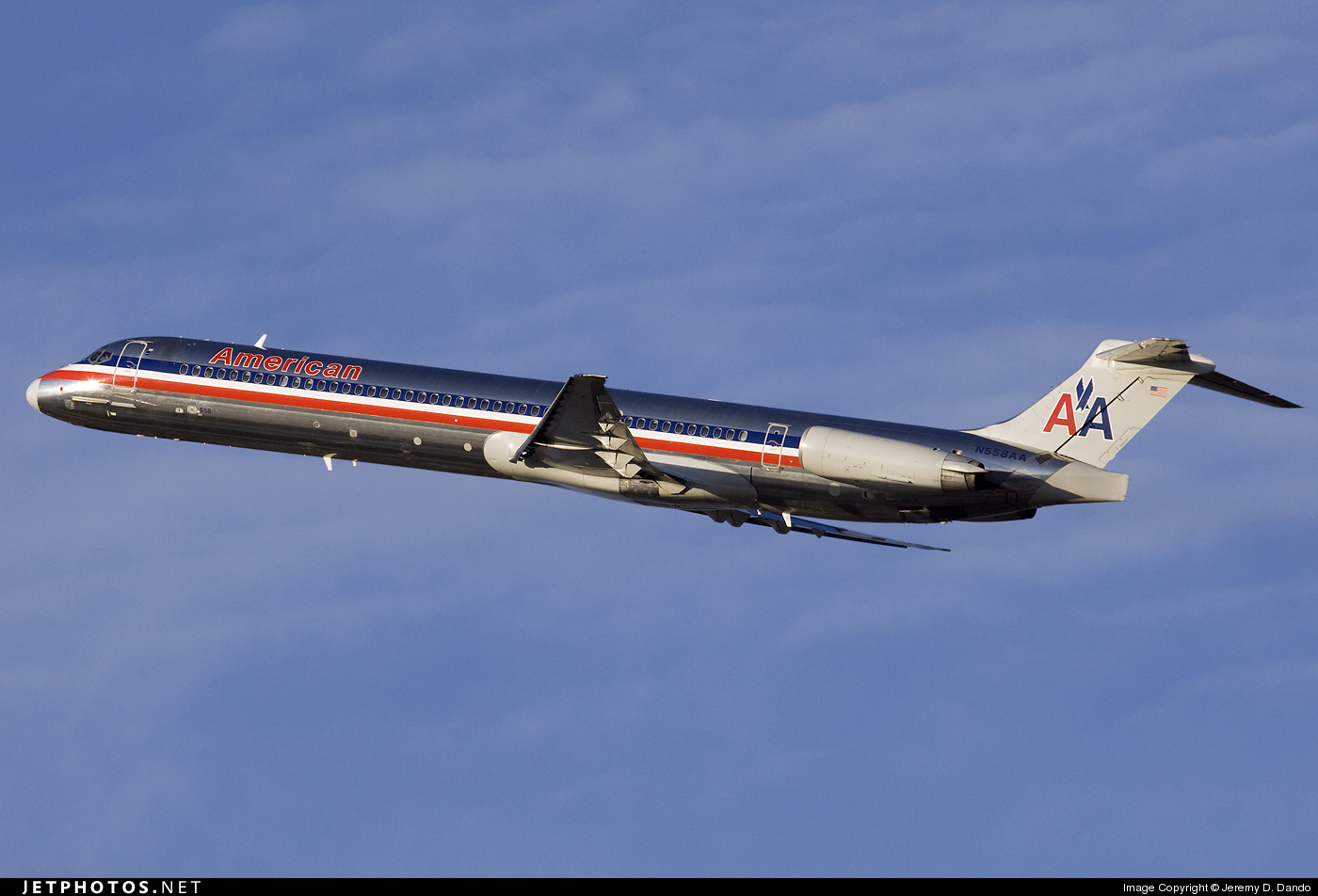 N558AA - McDonnell Douglas MD-82 - American Airlines
