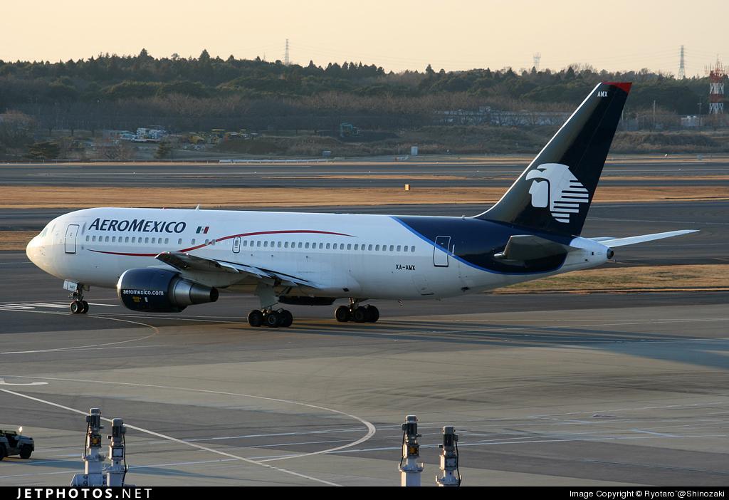 XA-AMX - Boeing 767-25D(ER) - Aeroméxico