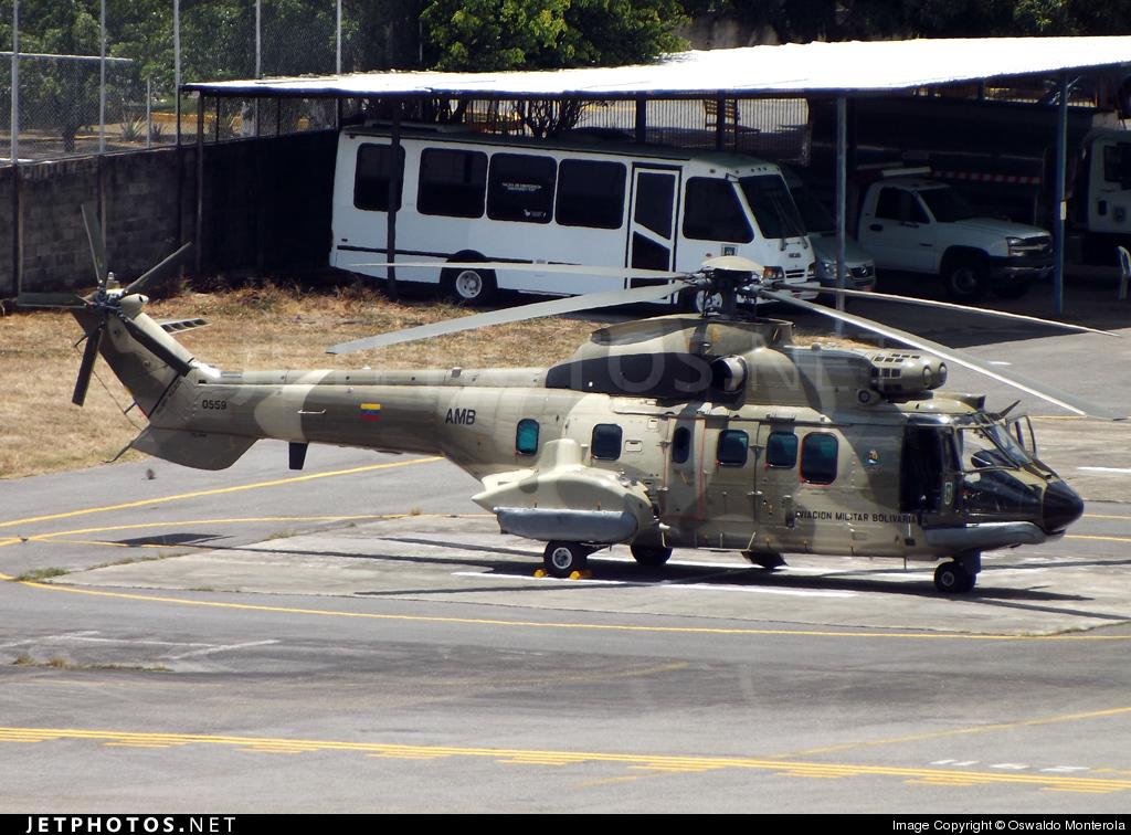 0559 - Eurocopter AS 532UL Cougar - Venezuela - Air Force