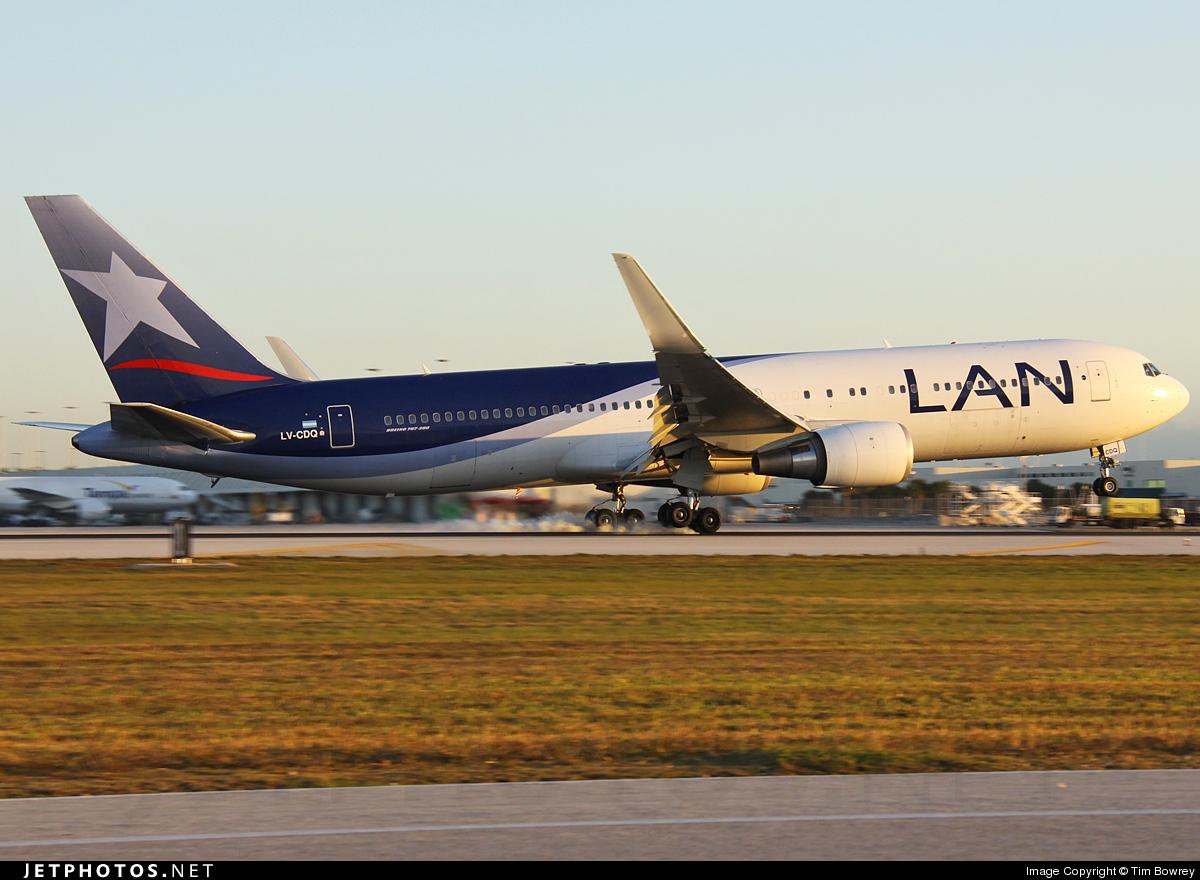 LV-CDQ - Boeing 767-316(ER) - LAN Argentina