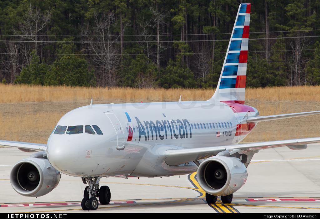 N700UW - Airbus A319-112 - American Airlines