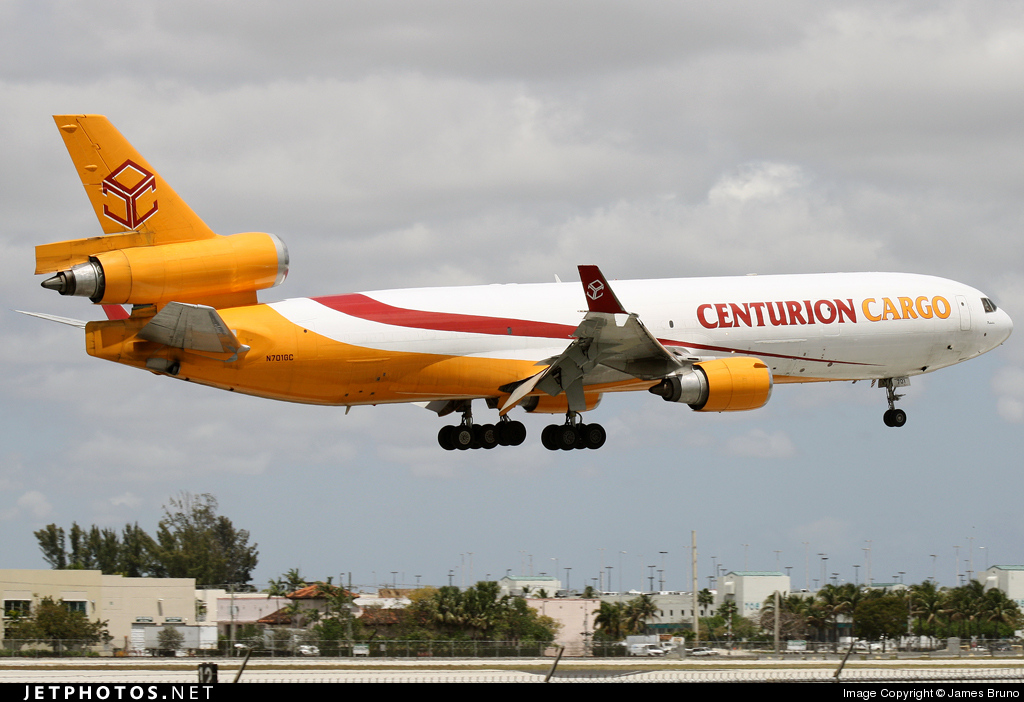 N701GC - McDonnell Douglas MD-11(F) - Centurion Air Cargo