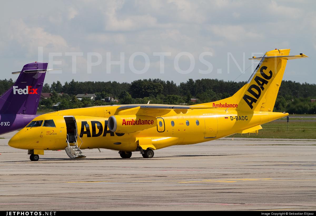 D-BADC - Dornier Do-328-300 Jet - ADAC Luftrettung (Aero-Dienst)
