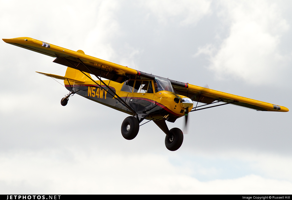 N54WY - Aviat A-1C Husky - Private