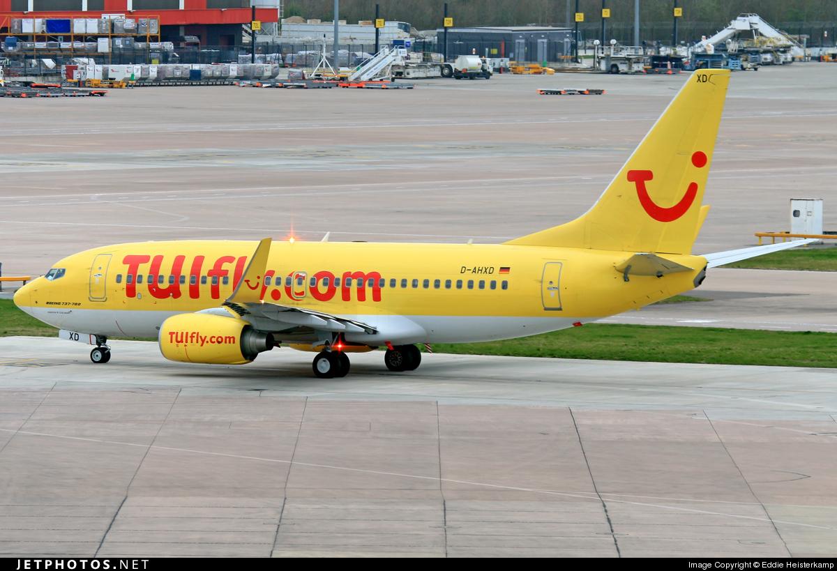 D-AHXD - Boeing 737-7K5 - TUIfly