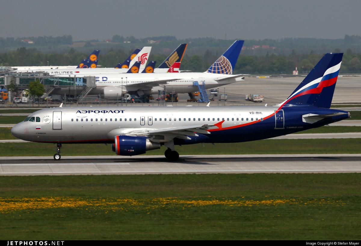 VQ-BHL - Airbus A320-214 - Aeroflot