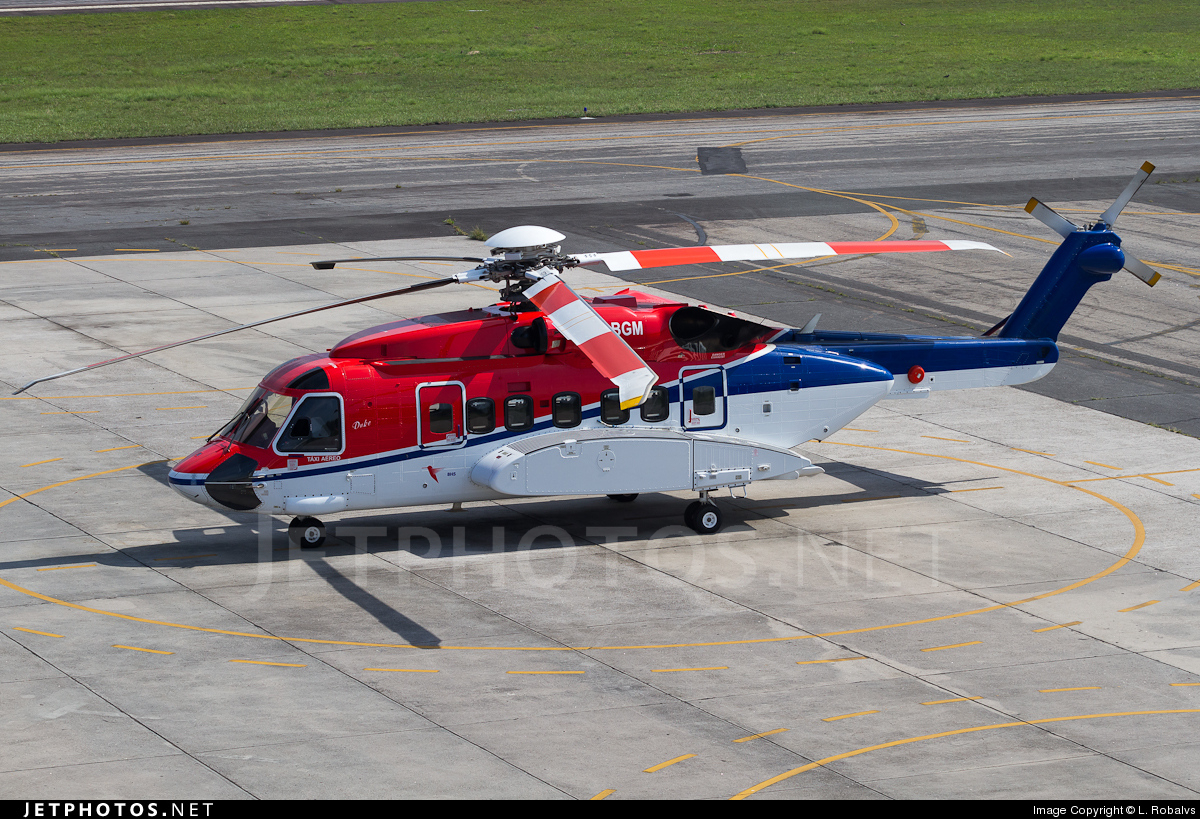 PR-BGM - Sikorsky S-92A Helibus - BHS Helicopter