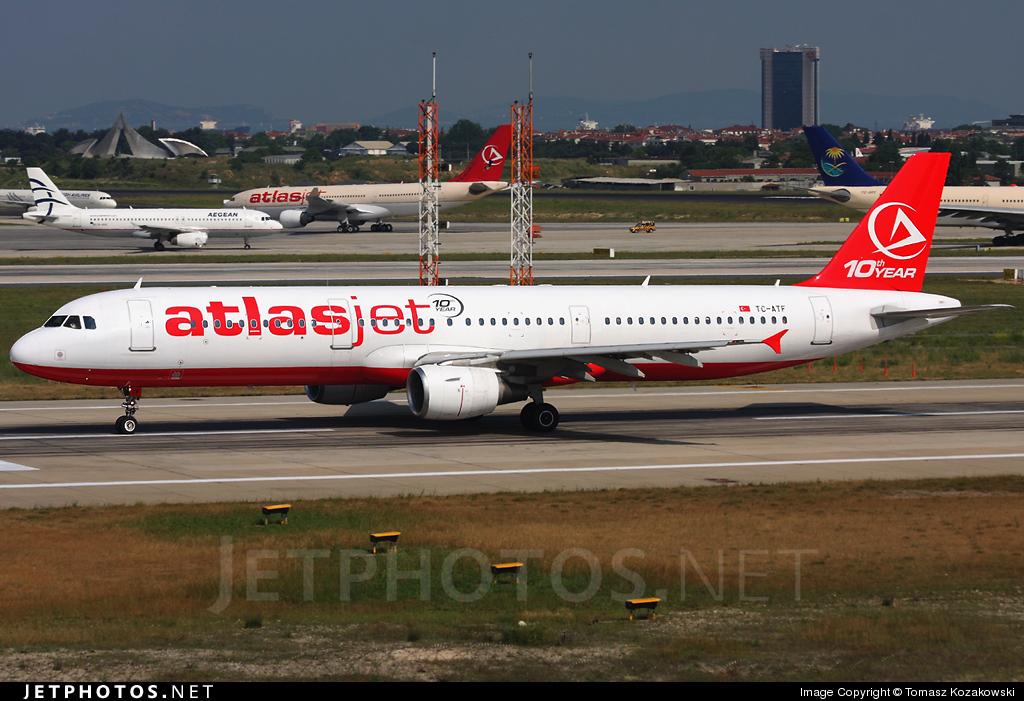 TC-ATF - Airbus A321-211 - AtlasJet