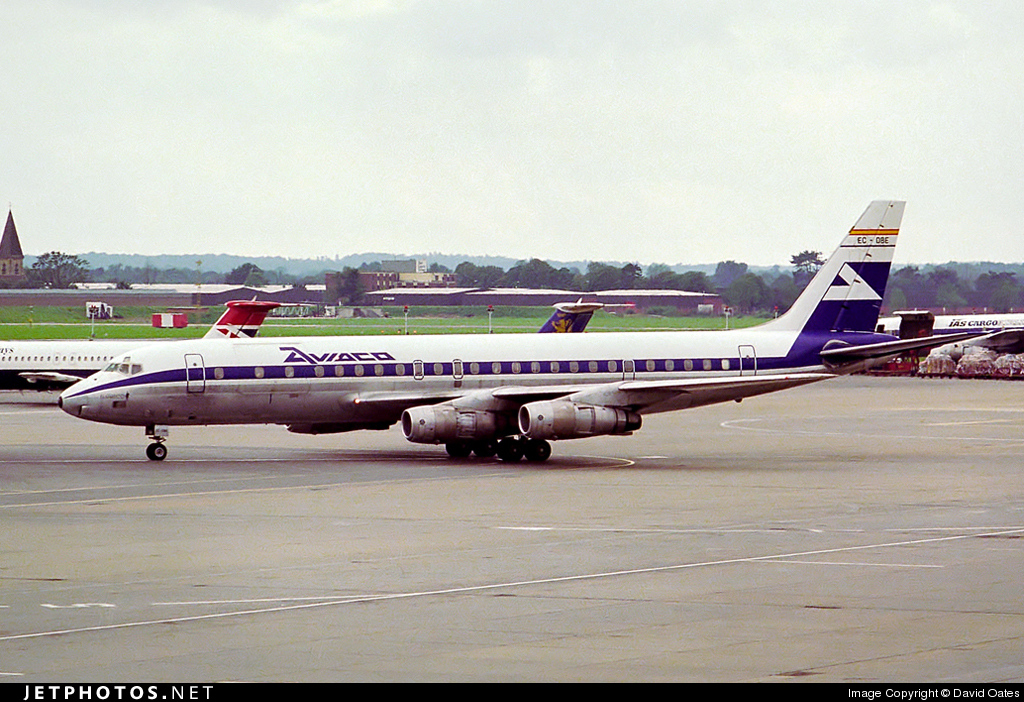EC-DBE - Douglas DC-8-55(F) - Aviaco