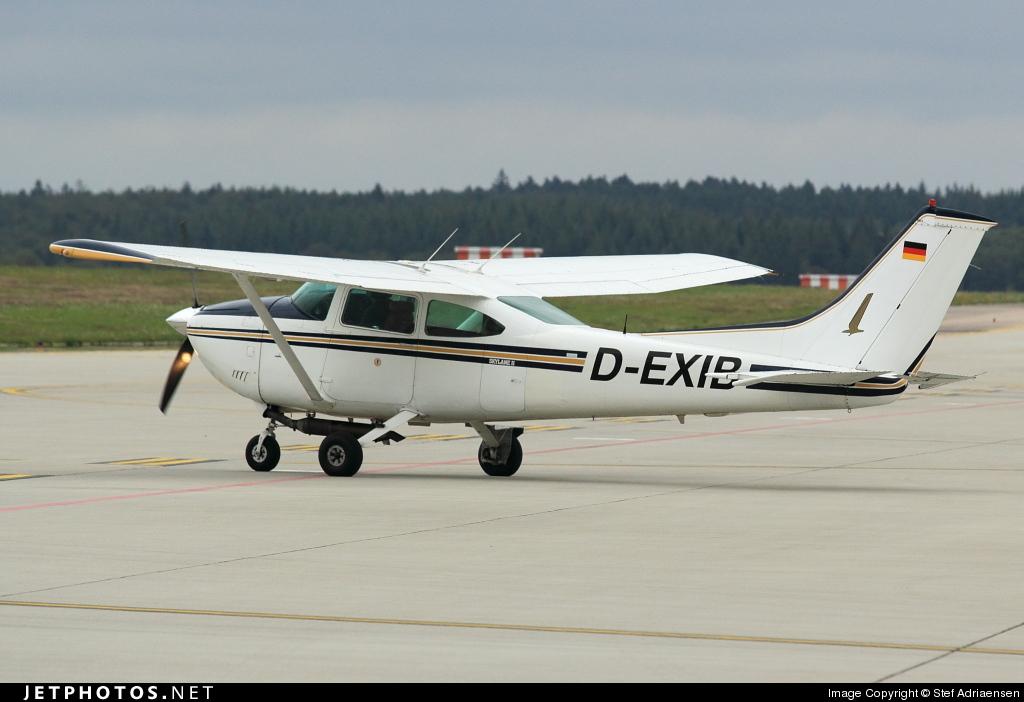 D-EXIB - Reims-Cessna F182Q Skylane II - Private