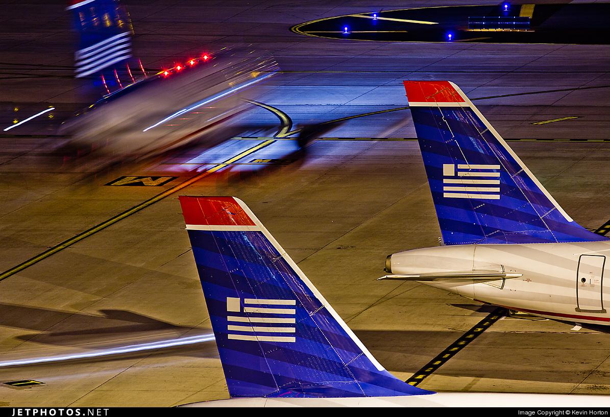 N801AW - Airbus A319-132 - US Airways