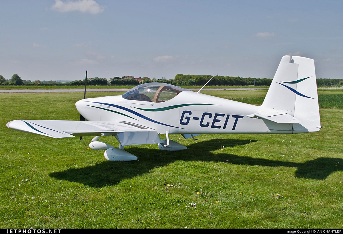 G-CEIT - Vans RV-7A - Private