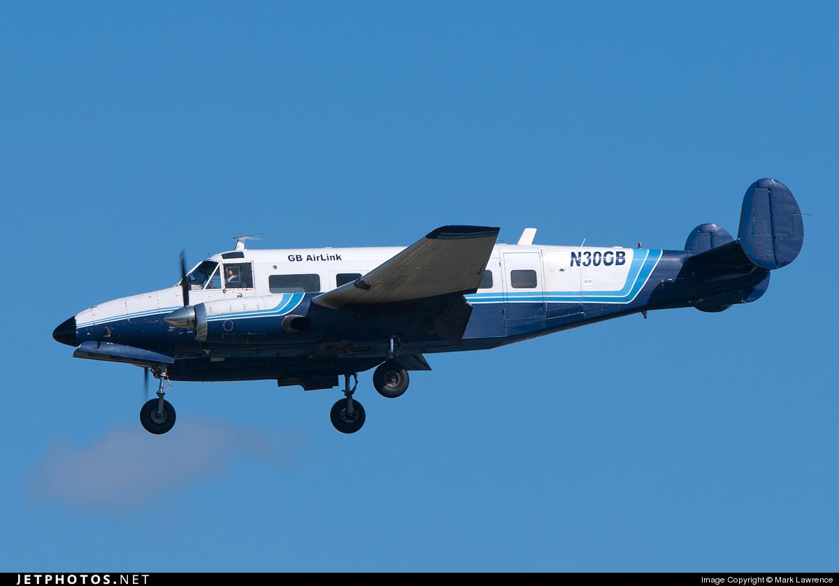 N30GB - Volpar Turboliner II (Beech 18) - GB Airlink