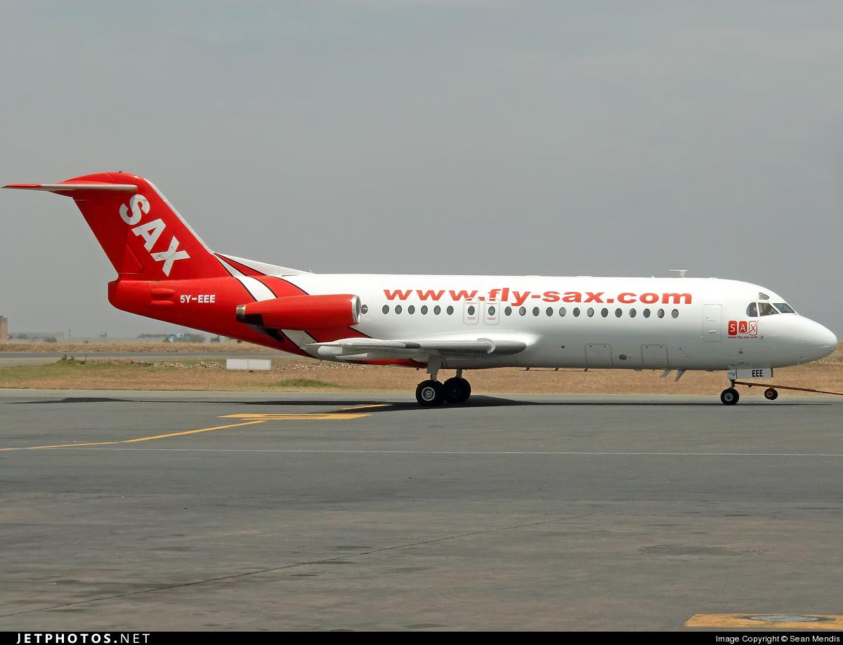 5Y-EEE - Fokker F28-4000 Fellowship - Fly-Sax