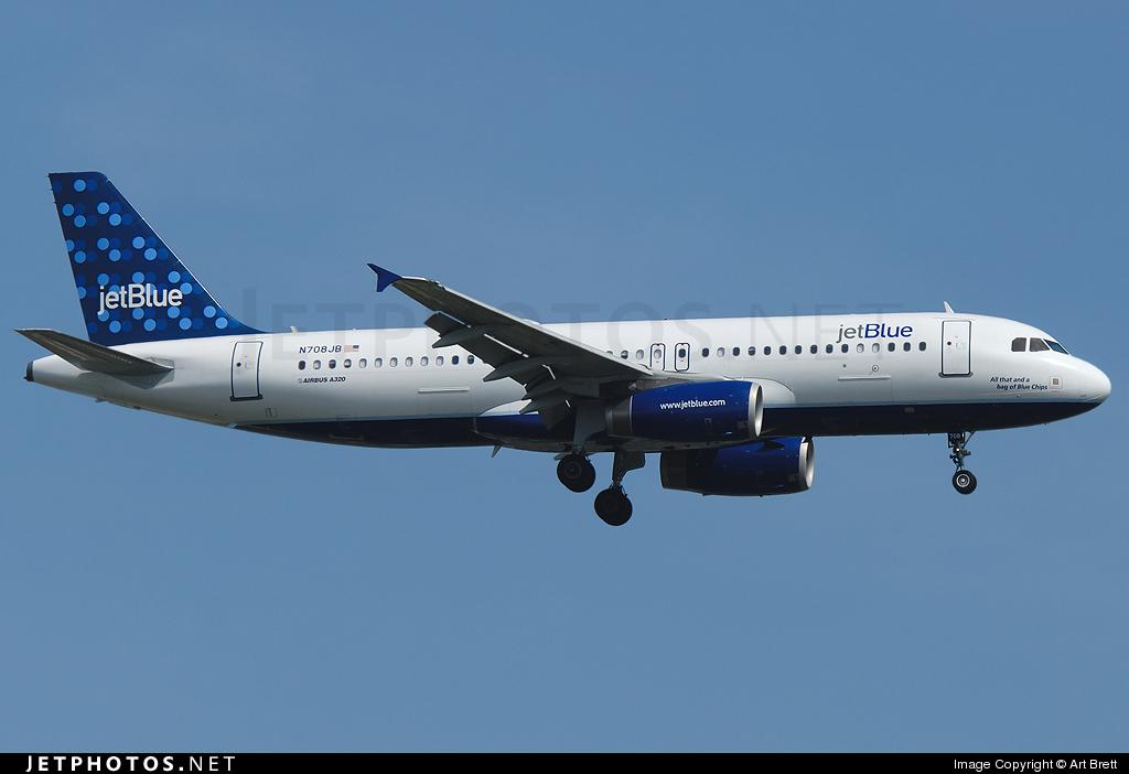 N708JB - Airbus A320-232 - jetBlue Airways