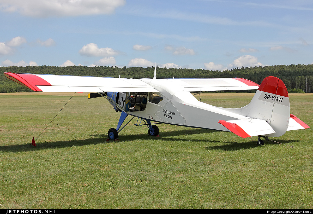 SP-YMW - PZL-Okecie 101A Gawron - Private