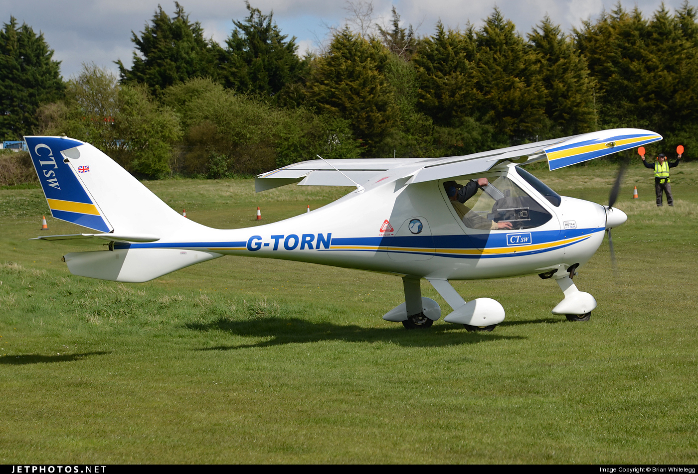 G-TORN - Flight Design CTLS - Private