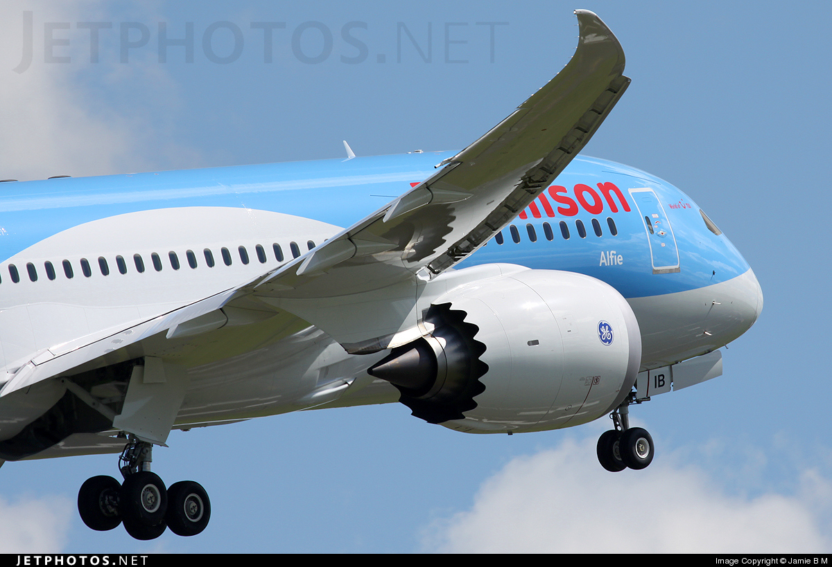 G-TUIB | Boeing 787-8 Dreamliner | Thomson Airways | Jamie B M ...