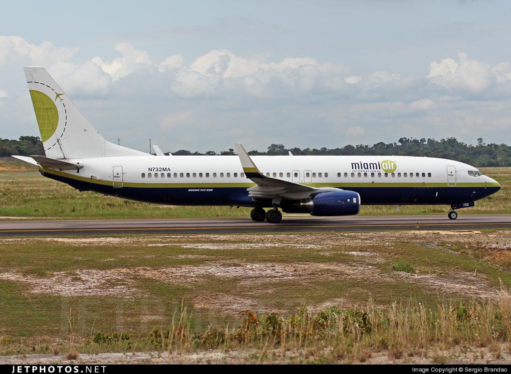 N732MA - Boeing 737-81Q - Miami Air International