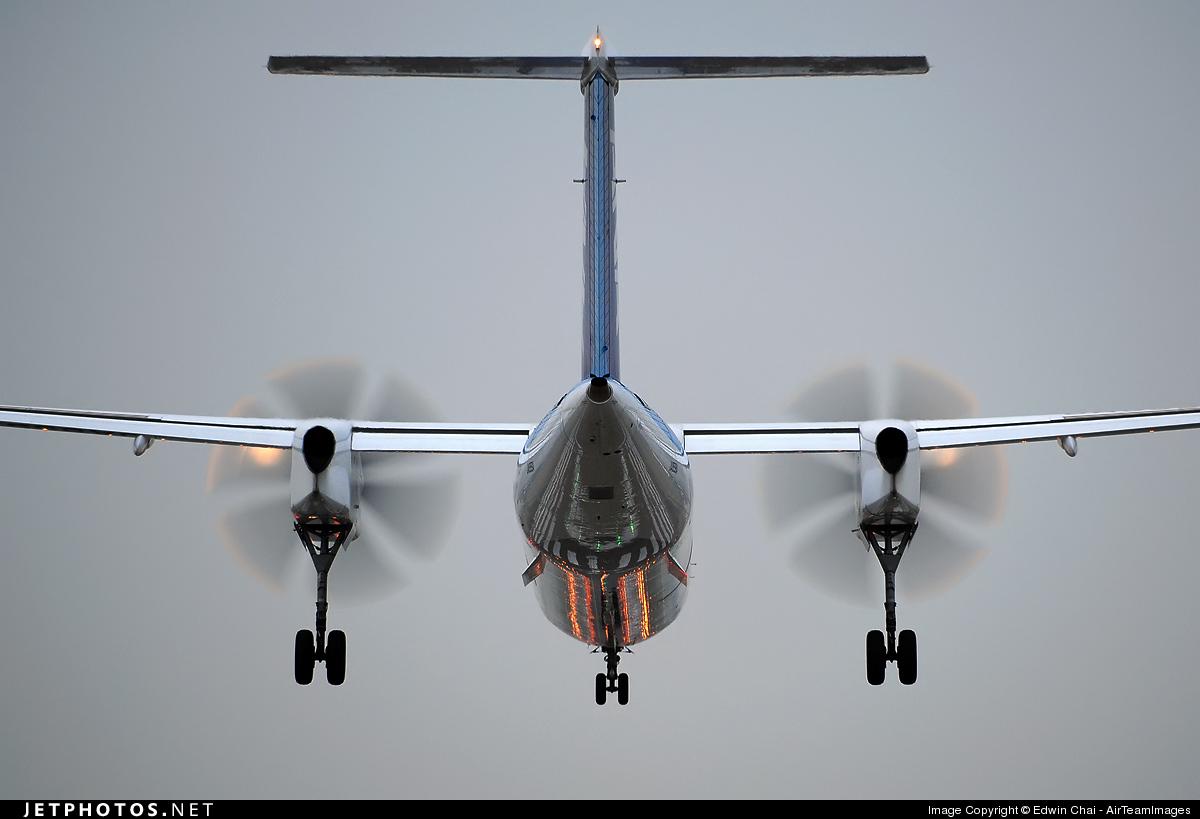 JA847A - Bombardier Dash 8-Q402 - ANA Wings