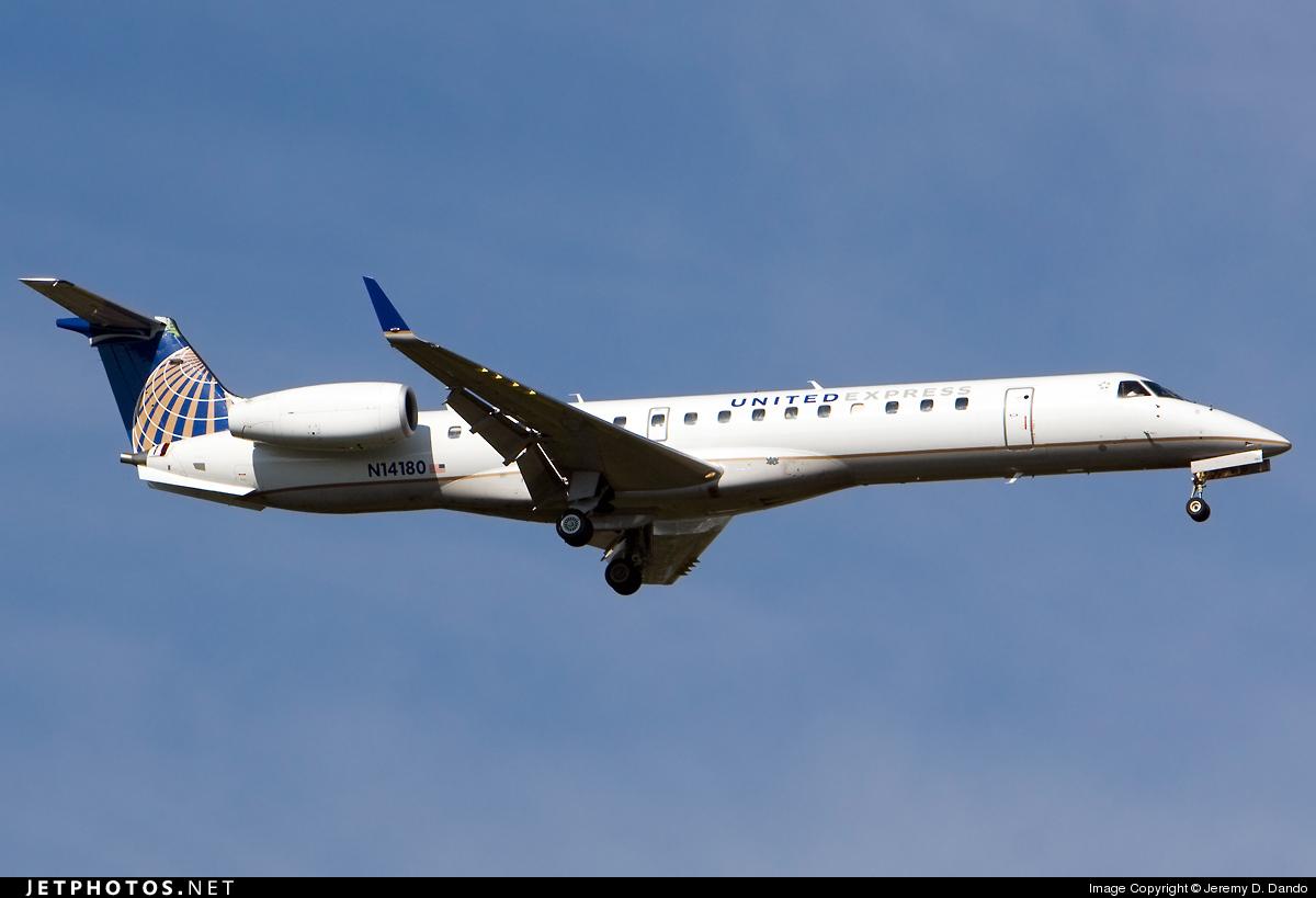 N14180 - Embraer ERJ-145XR - United Express (ExpressJet Airlines)