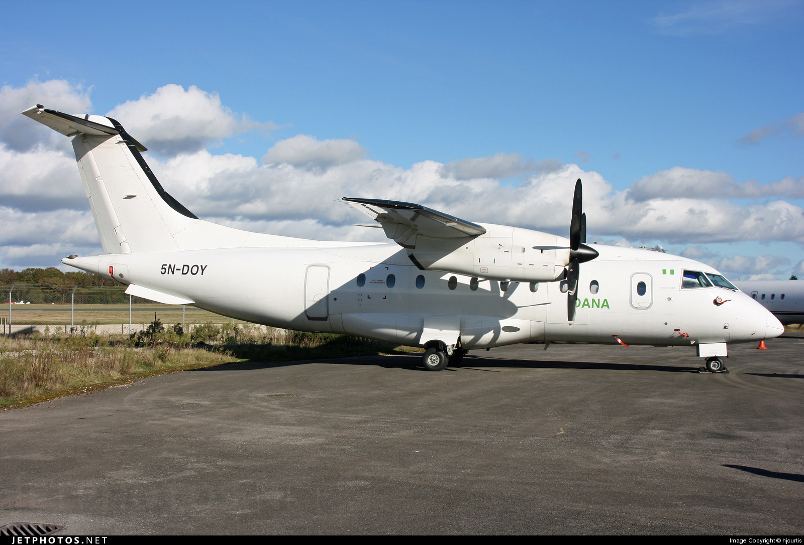 5N-DOY | Dornier Do-328-110 | Dornier | hjcurtis | JetPhotos
