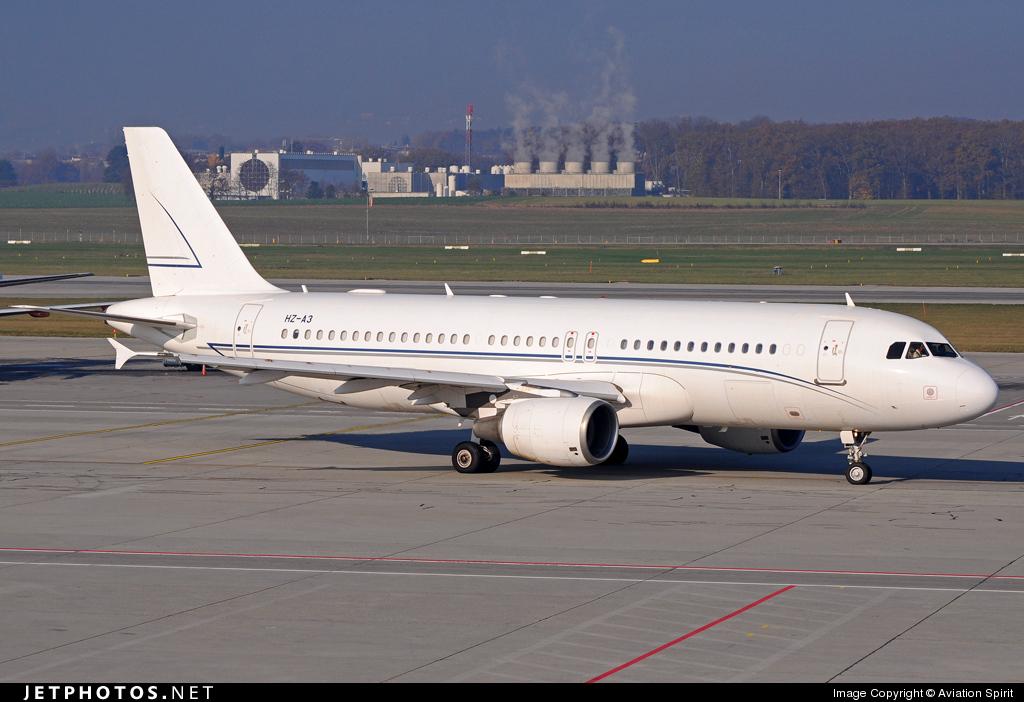 HZ-A3 - Airbus A320-214(CJ) Prestige - Private