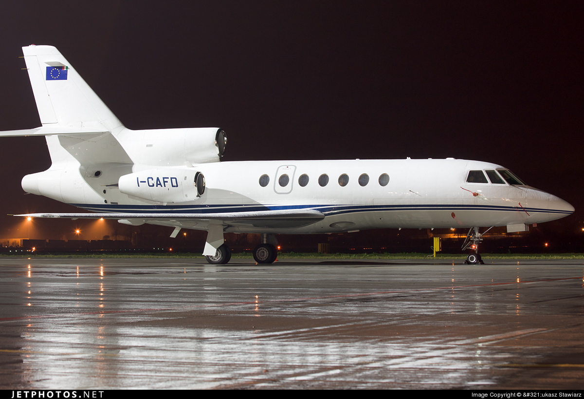 I-CAFD - Dassault Falcon 50 - Eurofly Service